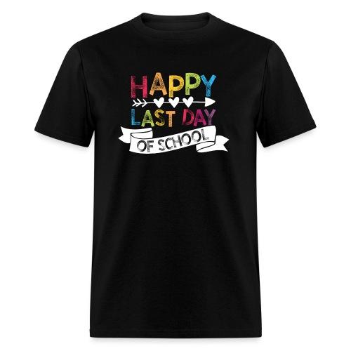 Happy Last Day of School | Stamps  - Men's T-Shirt