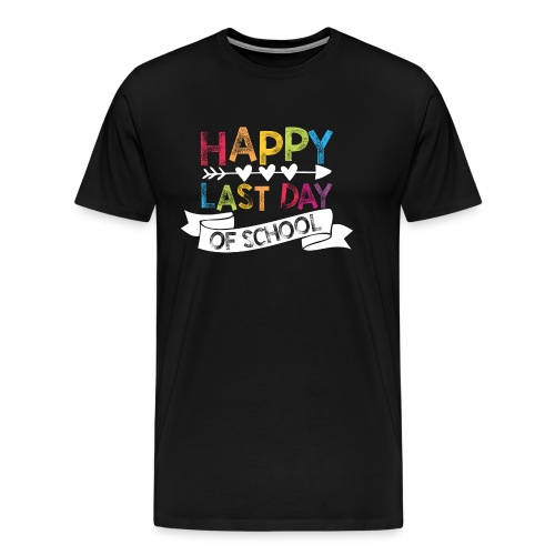 Happy Last Day of School | Stamps  - Men's Premium T-Shirt