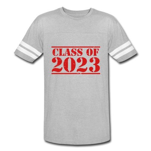 Class of 2023 distressed grad logo - Vintage Sport T-Shirt