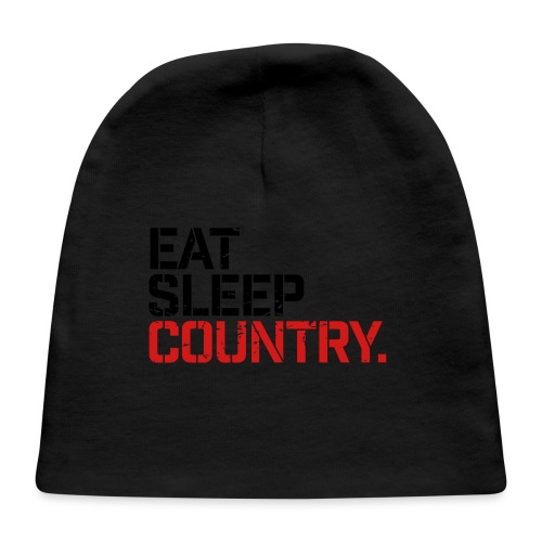 Eat Sleep Country - Baby Cap