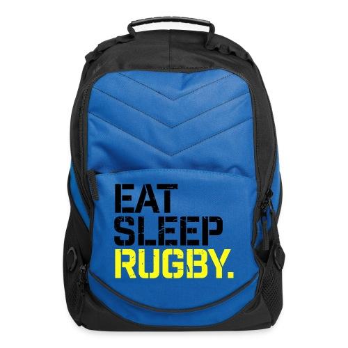 Eat Sleep Rugby - Computer Backpack