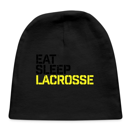 Eat Sleep Lacrosse - Baby Cap