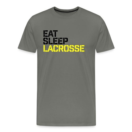 Eat Sleep Lacrosse - Men's Premium T-Shirt