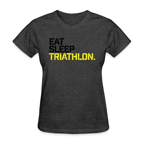 Eat Sleep Triathlon - Women's T-Shirt