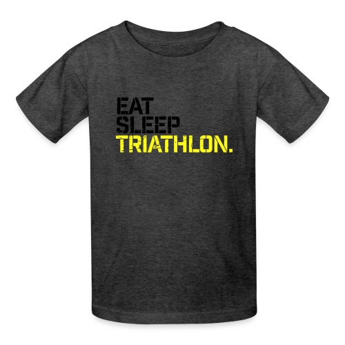 Eat Sleep Triathlon - Kids' T-Shirt