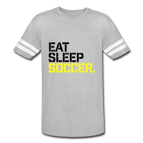 Eat Sleep Soccer - Vintage Sport T-Shirt