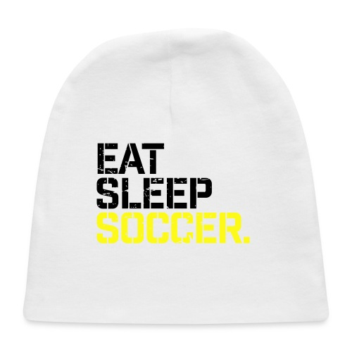 Eat Sleep Soccer - Baby Cap