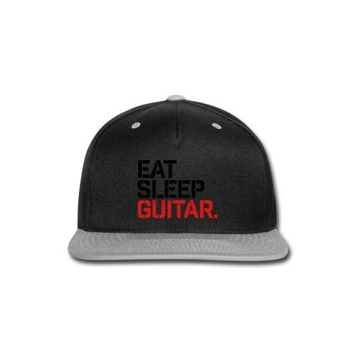 Eat Sleep Guitar - Snap-back Baseball Cap