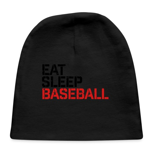 Eat Sleep Baseball - Baby Cap