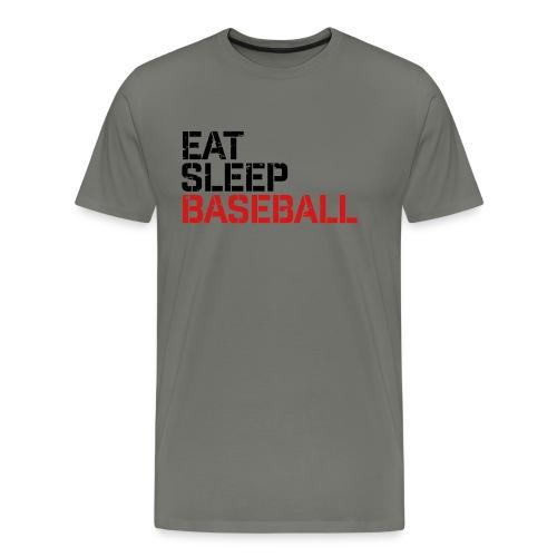 Eat Sleep Baseball - Men's Premium T-Shirt