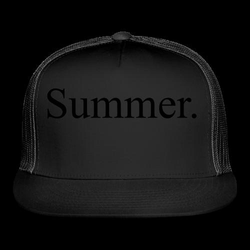 Summer.  - Trucker Cap
