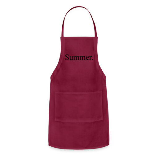 Summer.  - Adjustable Apron