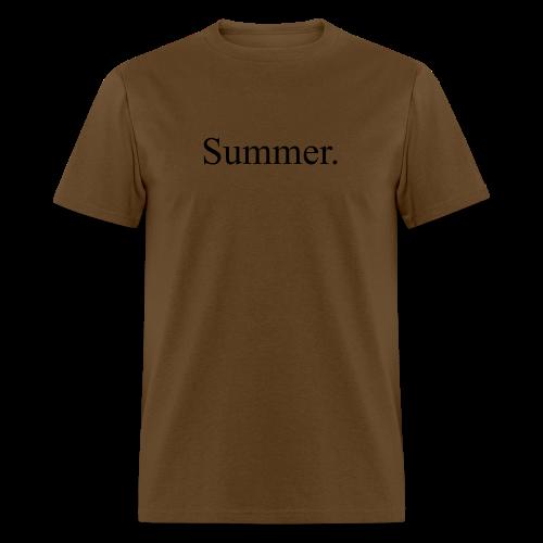 Summer.  - Men's T-Shirt