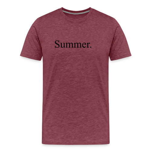 Summer.  - Men's Premium T-Shirt