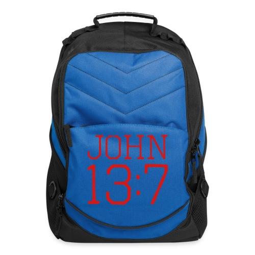 John 13:7 bible verse shirt - Computer Backpack