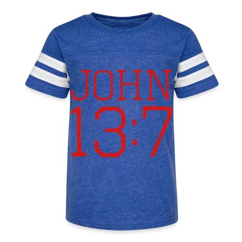 John 13:7 bible verse shirt - Kid's Vintage Sport T-Shirt