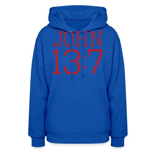 John 13:7 bible verse shirt - Women's Hoodie
