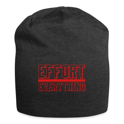 Effort Over Everything - Jersey Beanie