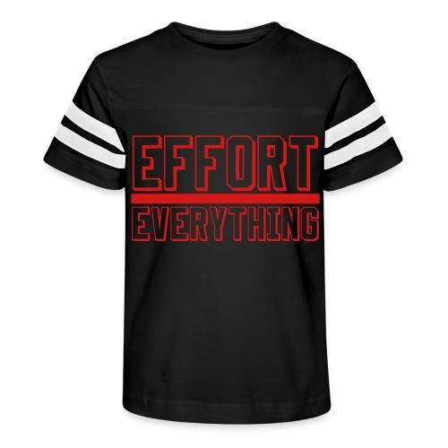 Effort Over Everything - Kid's Vintage Sport T-Shirt