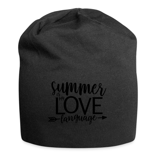 Summer Is My Love Language - Jersey Beanie