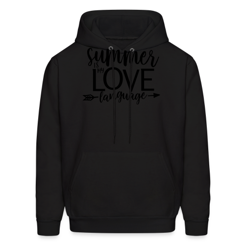 Summer Is My Love Language - Men's Hoodie