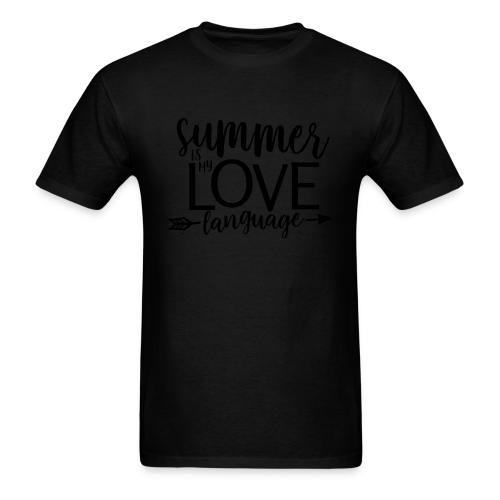Summer Is My Love Language - Men's T-Shirt