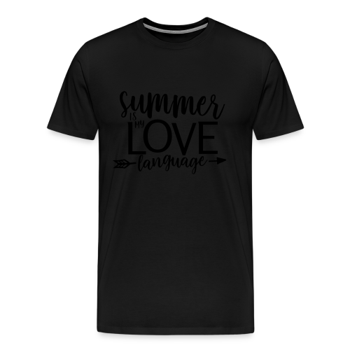 Summer Is My Love Language - Men's Premium T-Shirt