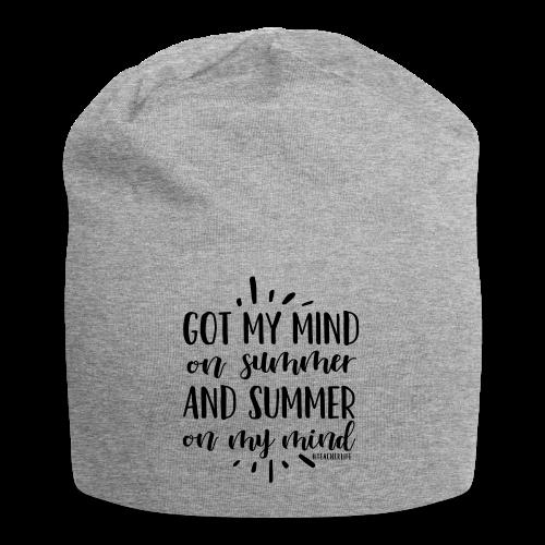 Got My Mind on Summer and Summer on My Mind - Jersey Beanie