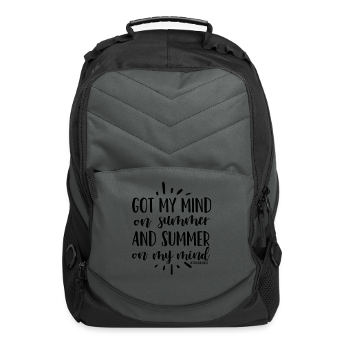 Got My Mind on Summer and Summer on My Mind - Computer Backpack