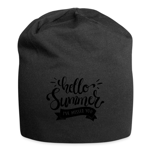 Hello Summer, I've Missed You - Jersey Beanie