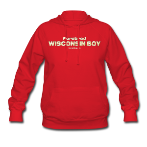 Purebred Wisconsin Boy  (Digital Print) - Women's Hoodie