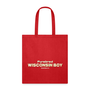 Purebred Wisconsin Boy  (Digital Print) - Tote Bag