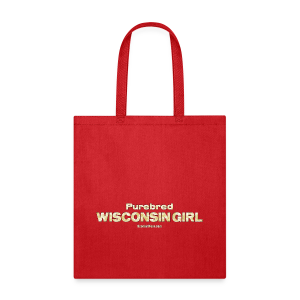 Purebred Wisconsin Girl  (Digital Print) - Tote Bag