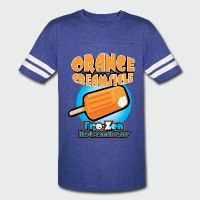 Orange Creamsicle: Fro-zen Ice Cream Treats - Vintage Sport T-Shirt