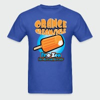 Orange Creamsicle: Fro-zen Ice Cream Treats - Men's T-Shirt