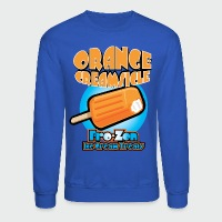Orange Creamsicle: Fro-zen Ice Cream Treats - Crewneck Sweatshirt
