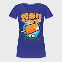 Orange Creamsicle: Fro-zen Ice Cream Treats - Women's Premium T-Shirt