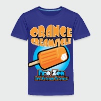 Orange Creamsicle: Fro-zen Ice Cream Treats - Toddler Premium T-Shirt