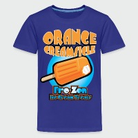 Orange Creamsicle: Fro-zen Ice Cream Treats - Kids' Premium T-Shirt