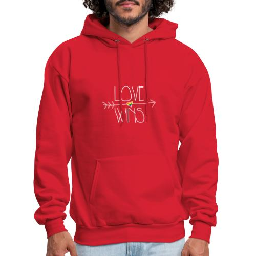 Love Wins - Men's Hoodie