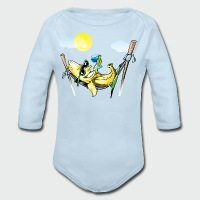Banana Hammock - Long Sleeve Baby Bodysuit