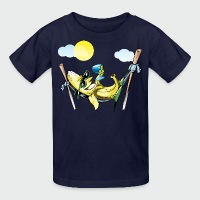 Banana Hammock - Kids' T-Shirt