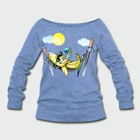 Banana Hammock - Women's Wideneck Sweatshirt
