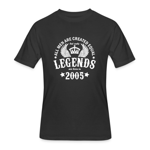 Legends are Born in 2005 - Men's 50/50 T-Shirt