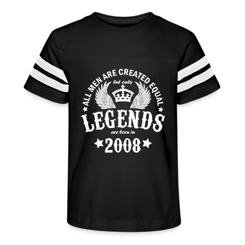 Legends are Born in 2008 - Kid's Vintage Sport T-Shirt