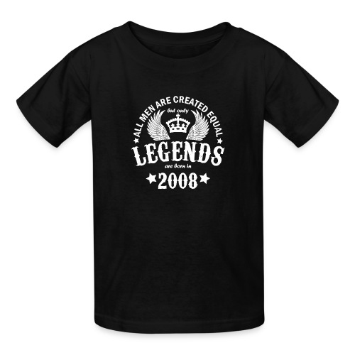 Legends are Born in 2008 - Kids' T-Shirt