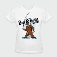 Bait & Tackle Fly Fishing - Women's T-Shirt