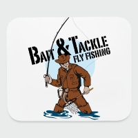 Bait & Tackle Fly Fishing - Mouse pad Horizontal
