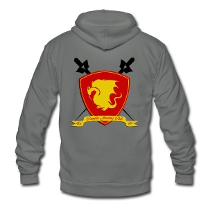 Camelot Jousting Club - Women's Hoodie - Unisex Fleece Zip Hoodie by American Apparel
