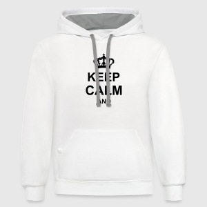 keep_calm_and_g1 T-Shirts - Contrast Hoodie